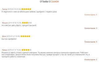 Микрозаймы в МФО Zaimon (Займон): обзор тарифных планов и процентов компании, заявка онлайн без звонков