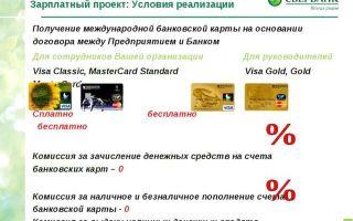 Зарплатный проект Сбербанк: инструкция для бухгалтера и какие тарифы для юридических лиц
