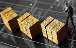 Палладий: цена за 1 грамм в рублях в Сбербанке и онлайн график котировок