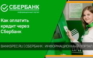 Как оплатить кредит Сбербанка через банкомат: алгоритм действий
