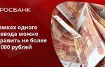 Как перевести деньги с карты Сбербанка на карту Росбанка: инструкция и возможные ошибки при совершении платежей