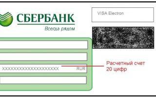 Вид счета зарплатной карты Сбербанка: особенности и где найти реквизиты
