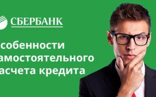 Рассчитать ежемесячный платеж по кредиту в Сбербанке: порядок начисления