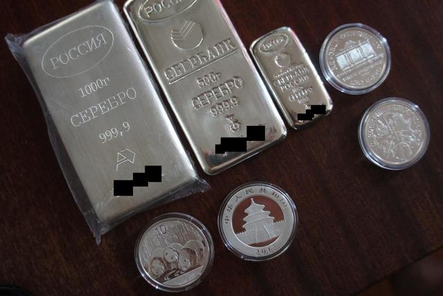 Серебро в Сбербанке: стоимость и как купить