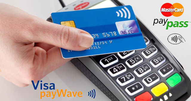 Бесконтактная оплата картой Сбербанка (paypass)