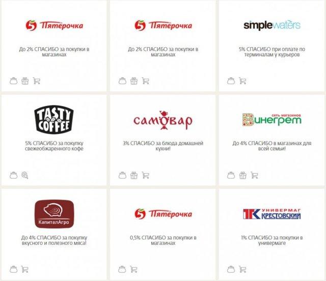 Как и где потратить бонусы Спасибо от Сбербанка: партнеры