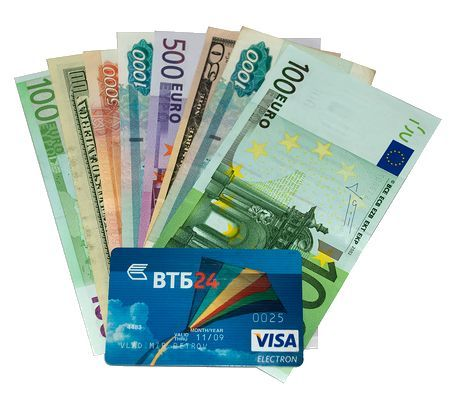 Условия и стоимость обслуживания валютных дебетовых карт втб