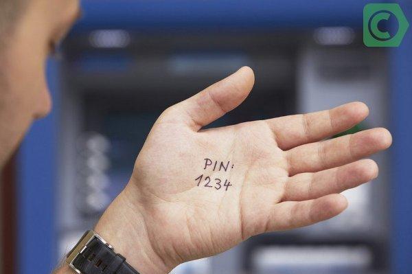 Забыл Пин-код карты Сбербанка: что делать