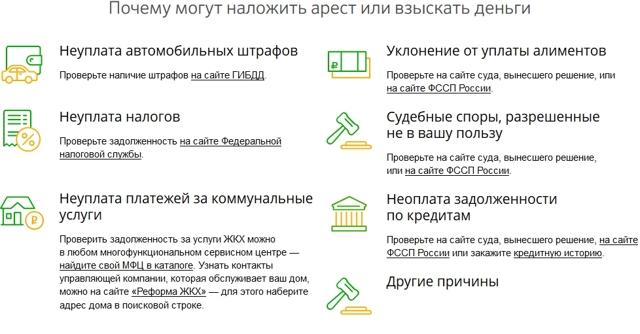 Взыскание средств по исполнительному производству с карты Сбербанка