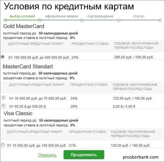 Заказать карту Сбербанка через интернет бесплатно