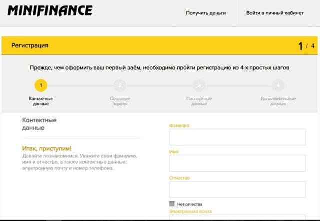 Как оформить займ в minifinance (Минифинанс) и какие необходимы документы?