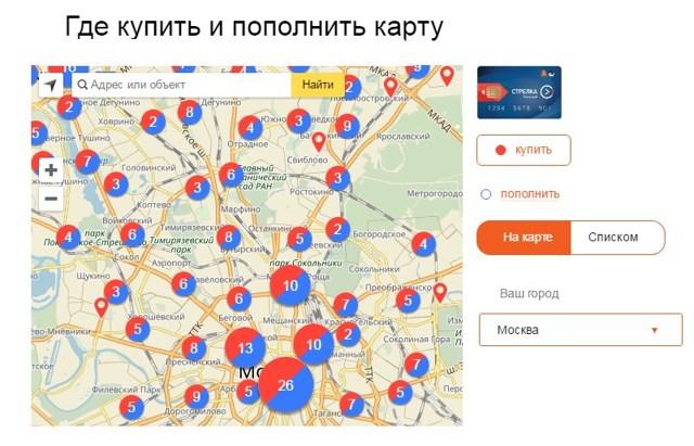 Как пополнить карту Стрелка через Сбербанк Онлайн