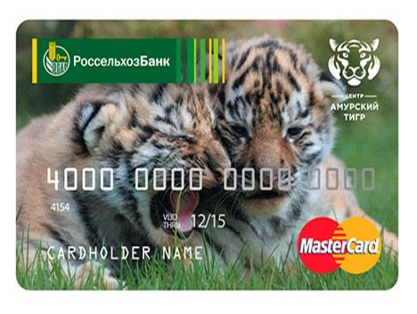 Тарифы по дебетовой карте Россельхозбанка Амурский тигр: лимит снятия наличных и доходная программа