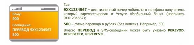 Перевод на карту Сбербанка через 900: по номеру карты